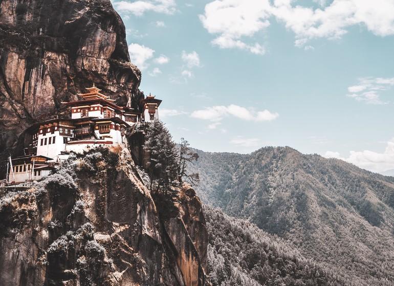 Trek avec vue sur les sommets Himalayens
