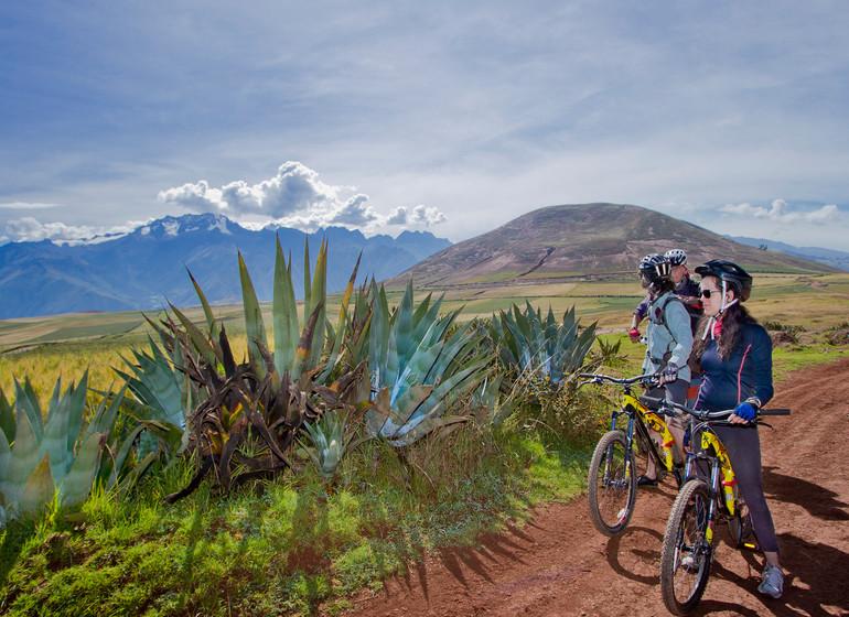 Pérou Voyage arrêt en vélo
