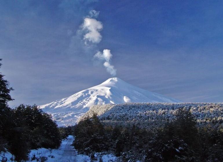 Chili Argentine Région des Lacs volcan