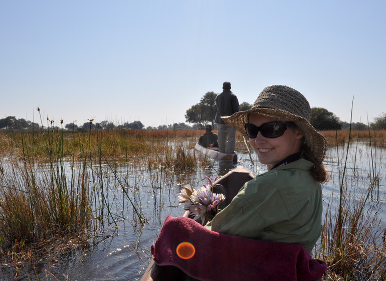 safari botswana mokoro