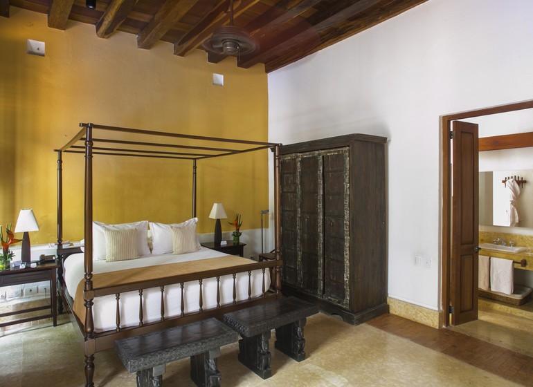 Colombie Voyage Cartagena Quadrofolio Hotel suite III