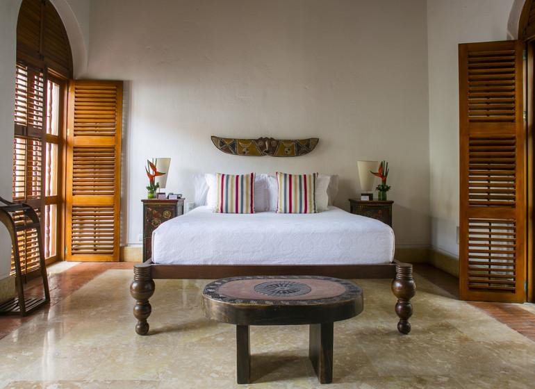 Colombie Voyage Cartagena Quadrofolio Hotel suite I
