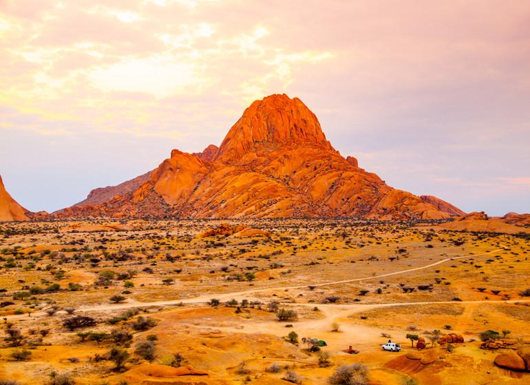 voyage namibie spitzkoppe