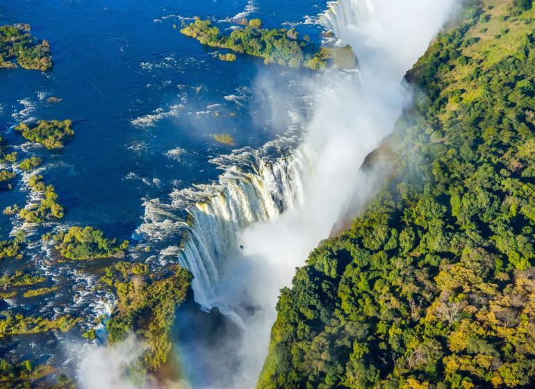 voyage zimbabwe chutes victoria