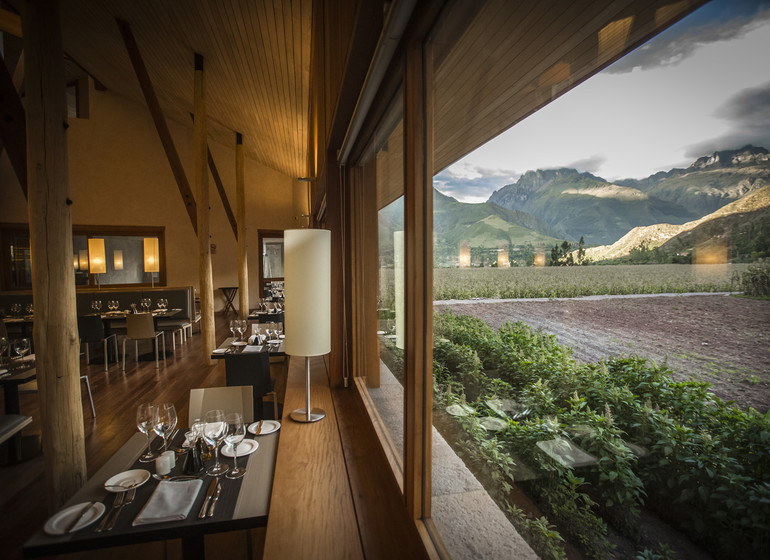 Pérou Voyage Explora Vallée Sacrée restaurant