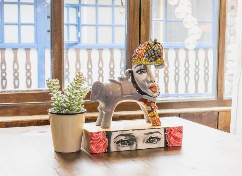 Pérou Voyage X.O. Art House Cusco déco table
