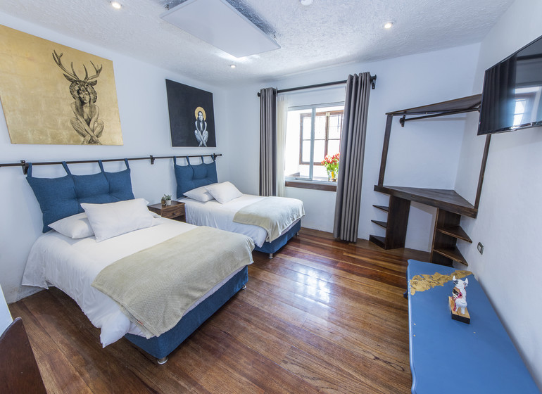 Pérou Voyage X.O. Art House Cusco  chambre twin I