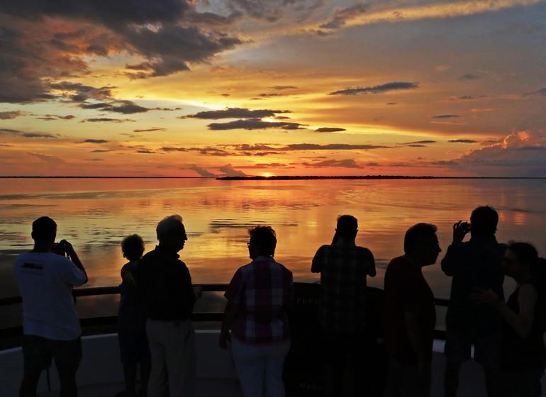 Brésil Voyage Amazon Clipper Premium coucher du soleil