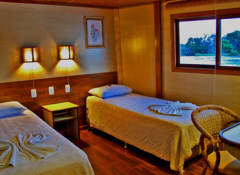 Brésil Voyage Amazon Clipper cabine twin