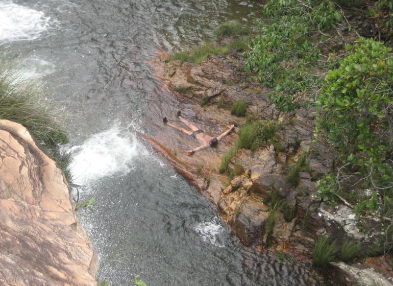 Brésil Voyage Chapada dos Veadeiros baignade relaxante