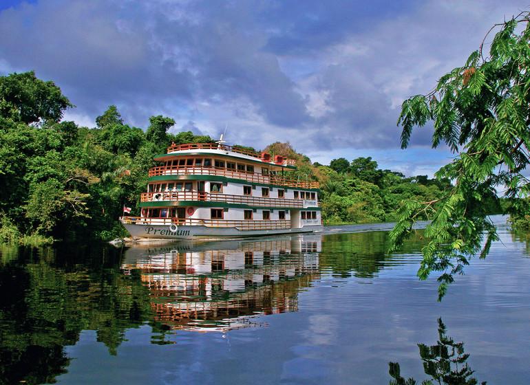Brésil Voyage Amazon Clipper Premium reflet
