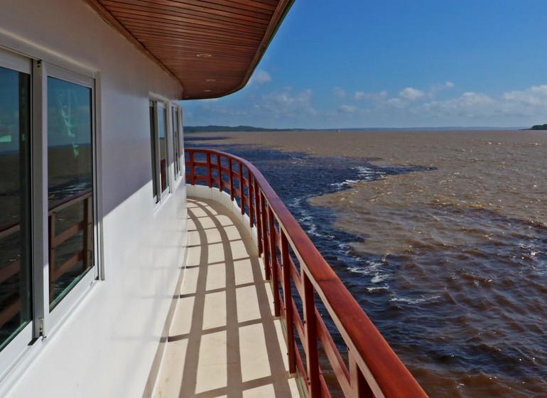 Brésil Voyage Amazon Clipper premium à la rencontre des eaux