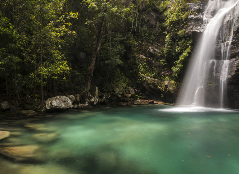 Brésil Voyage Chapada dos Veadeiros Piscine naturelle
