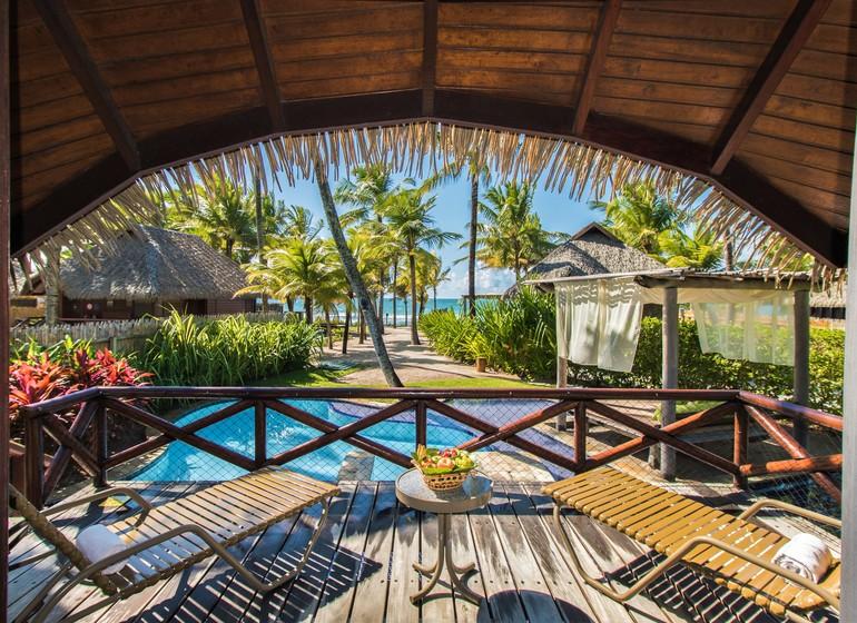Brésil Voyage Balnéaire Muro Alto Nannai Beach balcon suite avec piscine