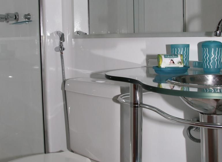Brésil Voyage Amazon Clipper Premium cabine salle de douche