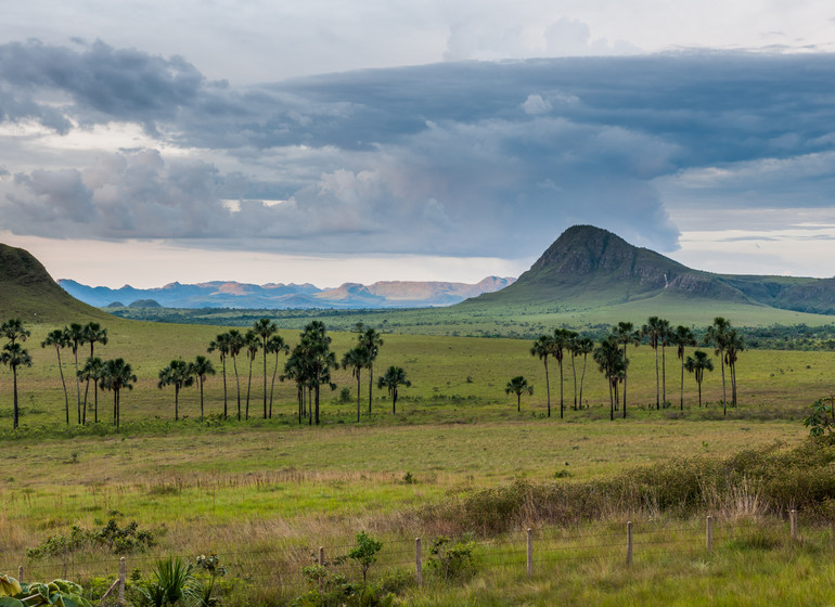 Brésil Voyage Chapada dos Veadeiros paysage