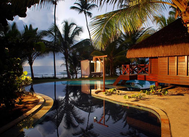 Brésil Voyage Balnéaire Muro Alto Nannai Beach master bungalow avec piscine