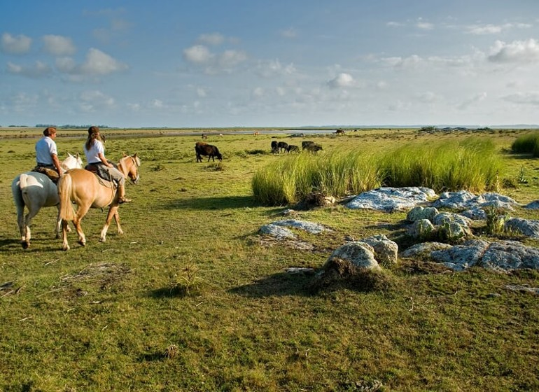 Uruguay Voyage Estancia Vik à cheval