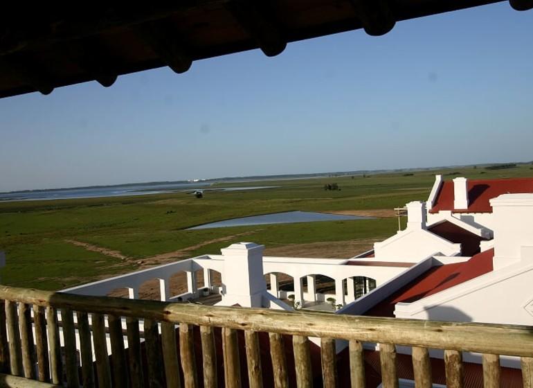 Uruguay Voyage José Ignacio Estancia Vik depuis balcon
