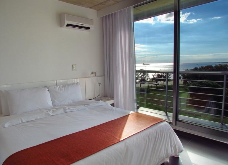 Uruguay Voyage Colonia Riverside chambre vue Rio de la Plata