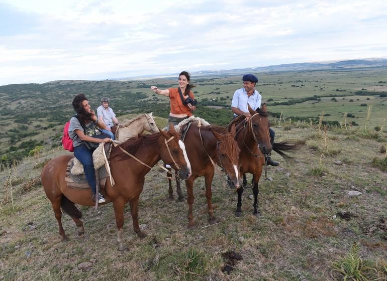 Uruguay Voyage Lavalleja Balcon del Abra à cheval