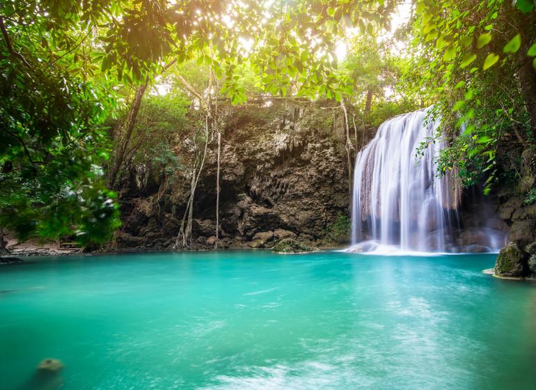 Voyage Asie Philippines kawasan falls Cebu