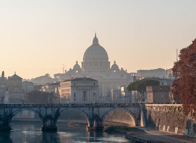 Voyage en Italie, Rome