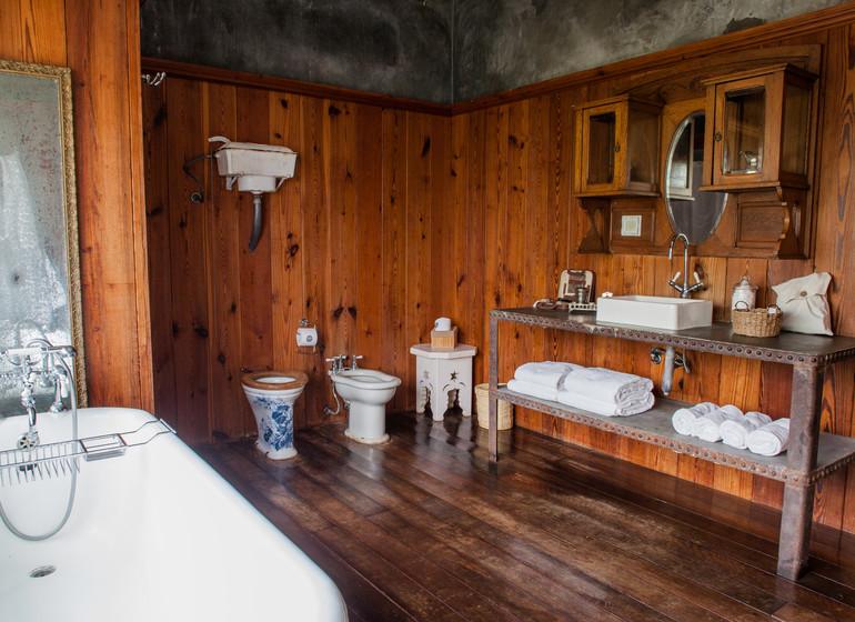 Uruguay Voyage Finca Narbona Relais & Châteaux suite Tamat bains