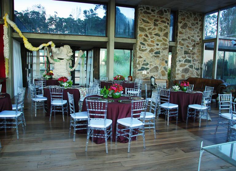 Uruguay Voyage Aguaverde Winelodge restaurant