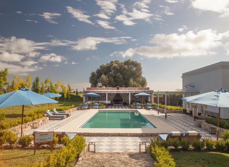 Uruguay Voyage Finca Narbona Relais & Châteaux piscine