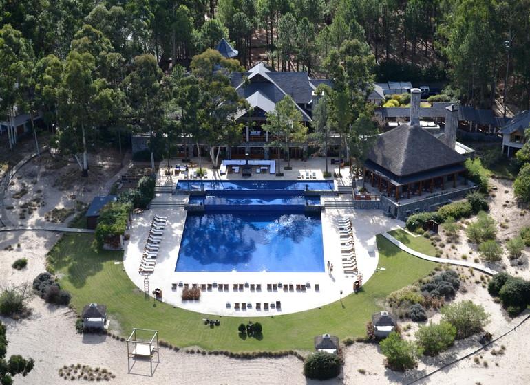 Uruguay Voyage Carmelo Resort maison principale avec piscine