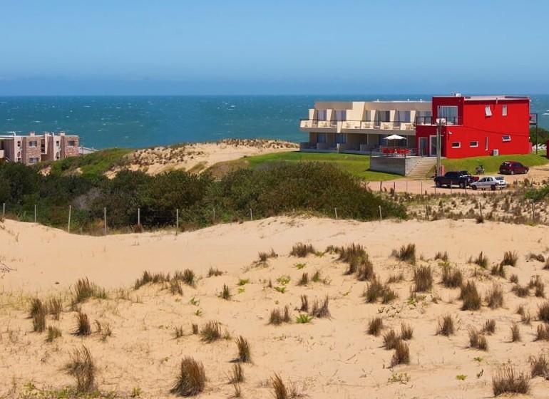 Uruguay Voyage Punta del Diablo Terrazas de la Viuda de loin