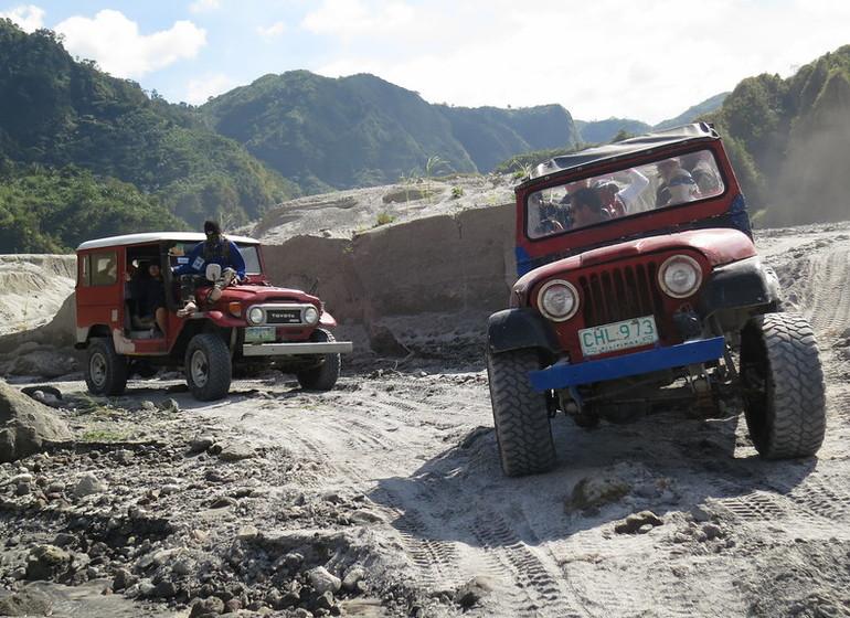 voyage asie philippines aventure volcan pinatubo 4x4