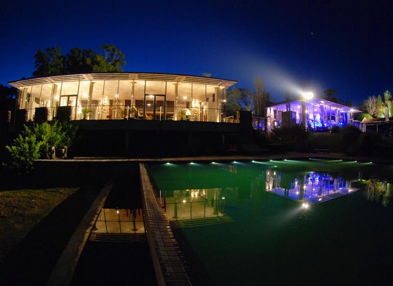 Uruguay Voyage Aguaverde Winelodge ambiance du soir