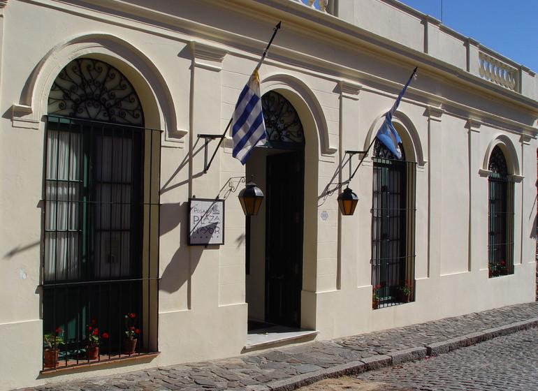 Uruguay Voyage Colonia Plaza Mayor extérieur