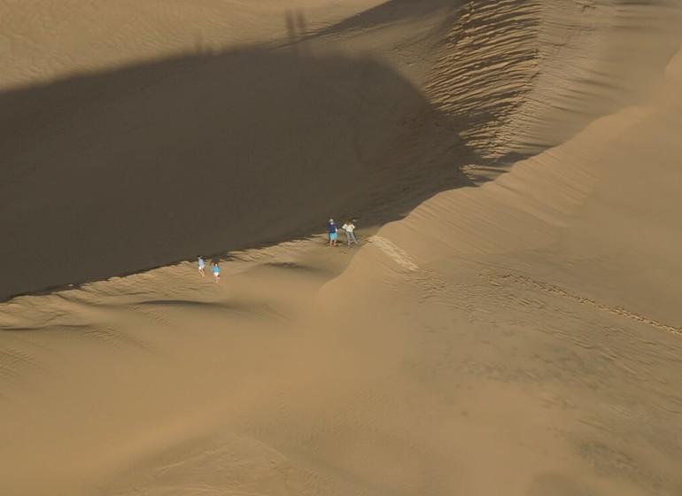 Uruguay Voyage dans les dunes