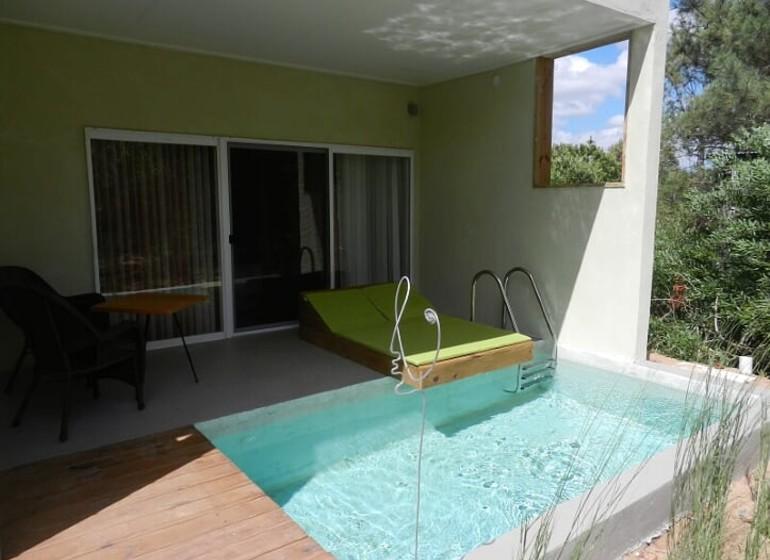 Uruguay Voyage La Viuda de José Ignacio suite avec piscine privée
