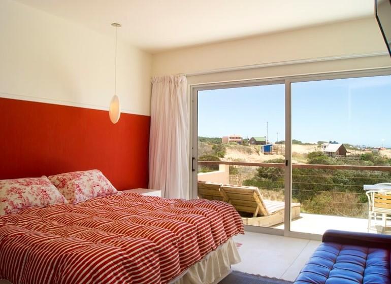 Uruguay Voyage Punta del Diablo Terrazas de la Viuda chambre
