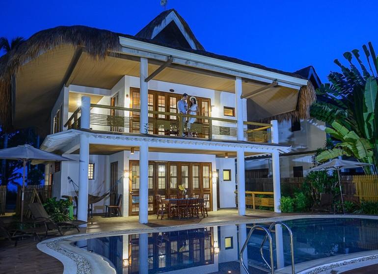 Asie Philippines palawan Sabang Daluyon Beach and Mountain resort