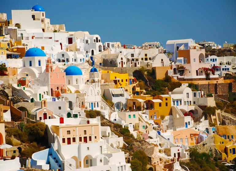 Santorin, voyage en Grèce
