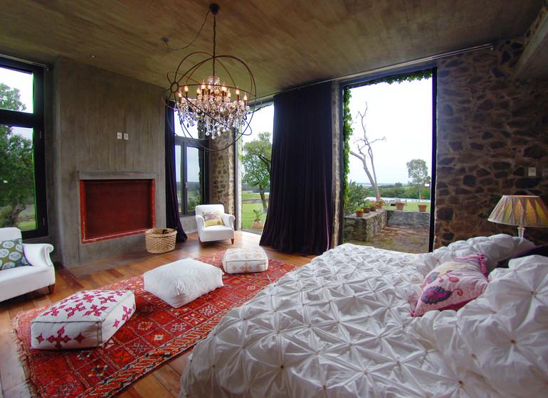 Uruguay Voyage Aguaverde Winelodge suite rouge
