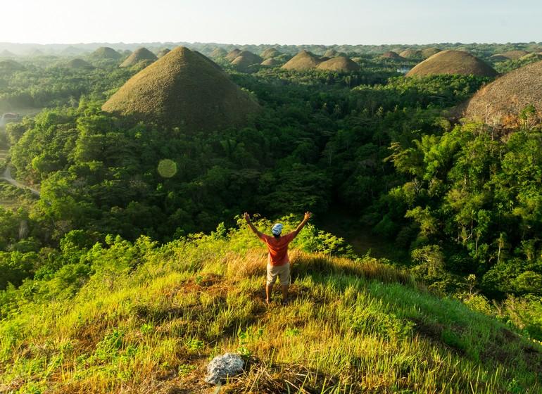 Voyage Asie Philippines chocolates hills bohol