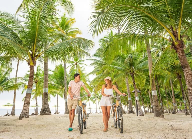 Voyage Asie Philippines Bohol South Palms Resort Panglao Bamboo Bike