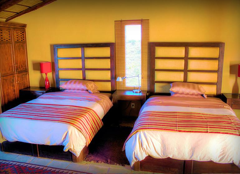 Uruguay Voyage Lavalleja Balcon del Abra chambre twin