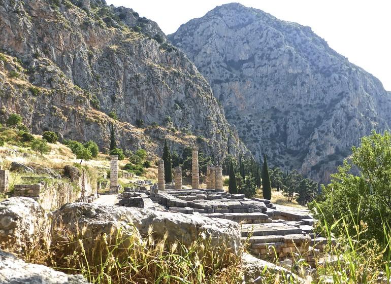 Delphes, voyage en Grèce