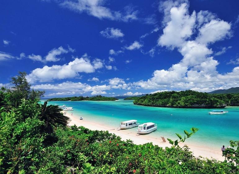 Circuit sur l'île d'Okinawa