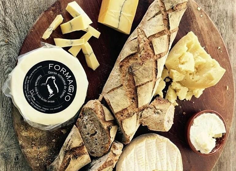 Uruguay Voyage Estancia La Vigna pain et fromages maison