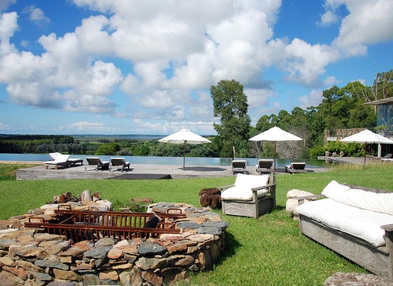 Uruguay Voyage Aguaverde Winelodge ambiance jardin