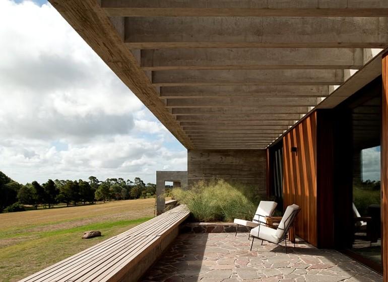 Uruguay Voyage Fasano Las Piedras bungalows terrasse