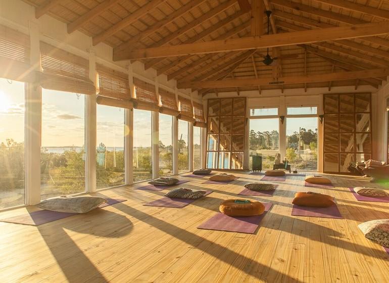 Uruguay Voyage Carmelo Resort salle de yoga